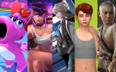 Portada videojuegos trans