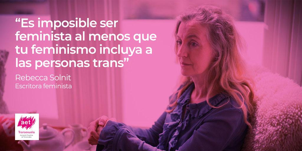 Rebecca Solnit TW