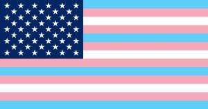 Joe Biden trans flag 2