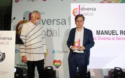 Manuel Rodenas premio reconocimiento a una carrera